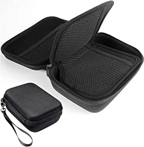 CaseSack Camera Lens Filter Case, Semi-Hard case for 10.5mm- 10.5mm Round or Square Filters, Strong Protection and Easy to Carry, Separated mesh Pocket