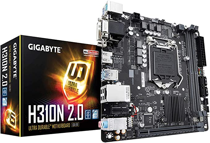 Amazon.com: Gigabyte GB H310N 2.0 Mini-Itx Motherboard ...