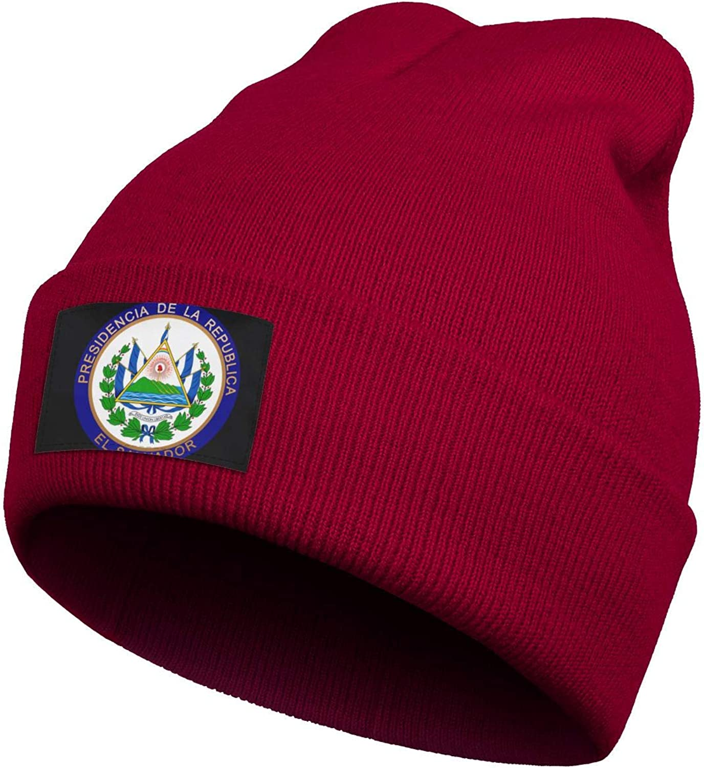 Beanie Hats for Men Womens El-Salvador-Seal-of-The-President Acrylic Woolen Cap