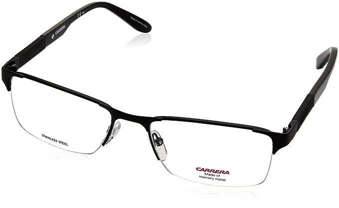 Amazon.com: Carrera 8821 Eyeglass Frames CA8821-010G-5518 - Matte ...