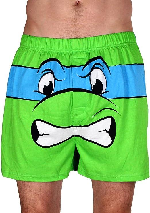 Underboss Mens Teenage Mutant Ninja Turtle Raphael Boxer Shorts