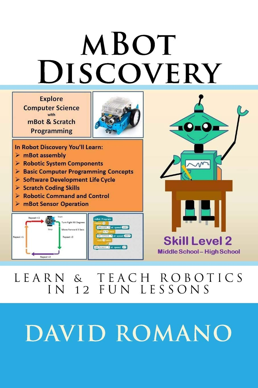 Amazon com: mBot Discovery: Learn & Teach Robotics In 12 Fun