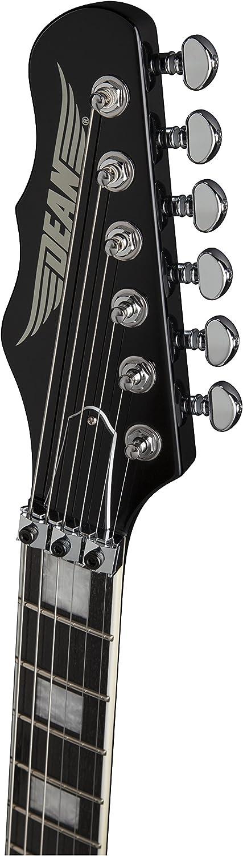 Dean Guitars TAF CBK Trans Am Floyd Rose Trem guitarra eléctrica - Clásico Negro: Amazon.es: Instrumentos musicales