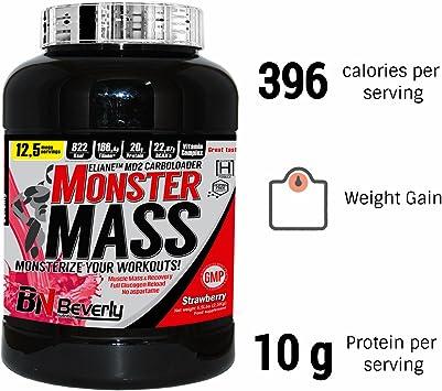Beverly Nutrition Exclusive Monster Mass Mass Gain Powder ...