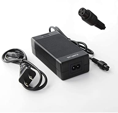 $90 Value Ecoreco M3 M5 Compatible Scooter Charger Power Adapter 3-pin 42v 2A