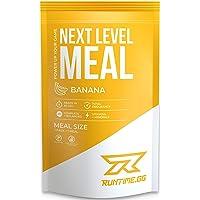 Runtime Next Level Meal - vollwertiger Mahlzeitersatz für langanhaltende Sättigung, Energie, Konzentration und Leistungsfähigkeit, mit Vitaminen und Nährstoffen, 1 Portion (150g) (Banana)