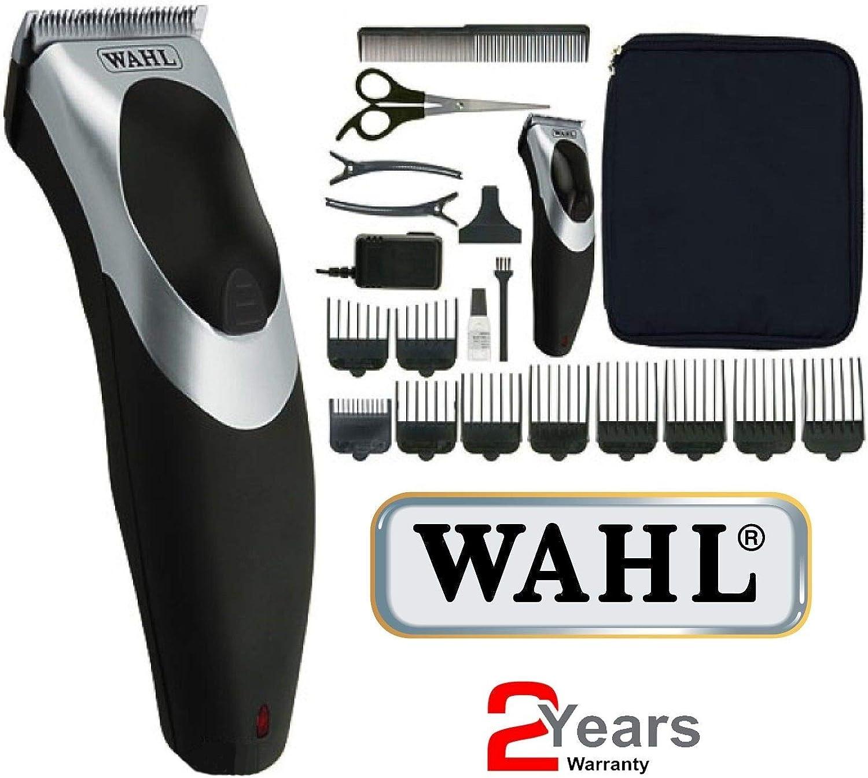 Wahl para hombre/Hombre y rinseable lavable Red Clip de pelo ...