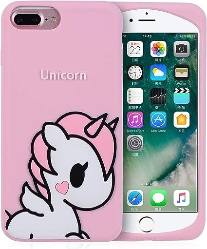 Joyleop Angel Unicorn Case for iPhone 6 Plus/6s Plus Cover, Cute ...
