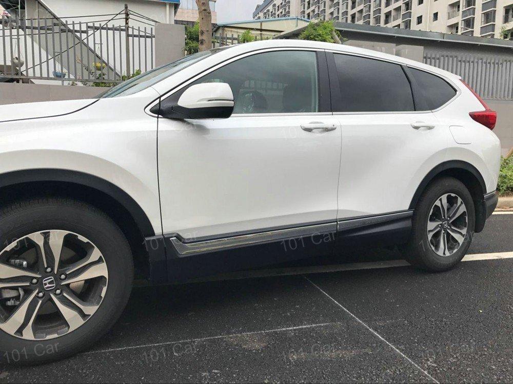 Kaitian 4pcs ABS Chrome Car Body Side Moulding Trim Overlay Cover Trim Molding Trim Molding Strip Decorative Emblems for Honda CRV CR-V 2017 2018 2019