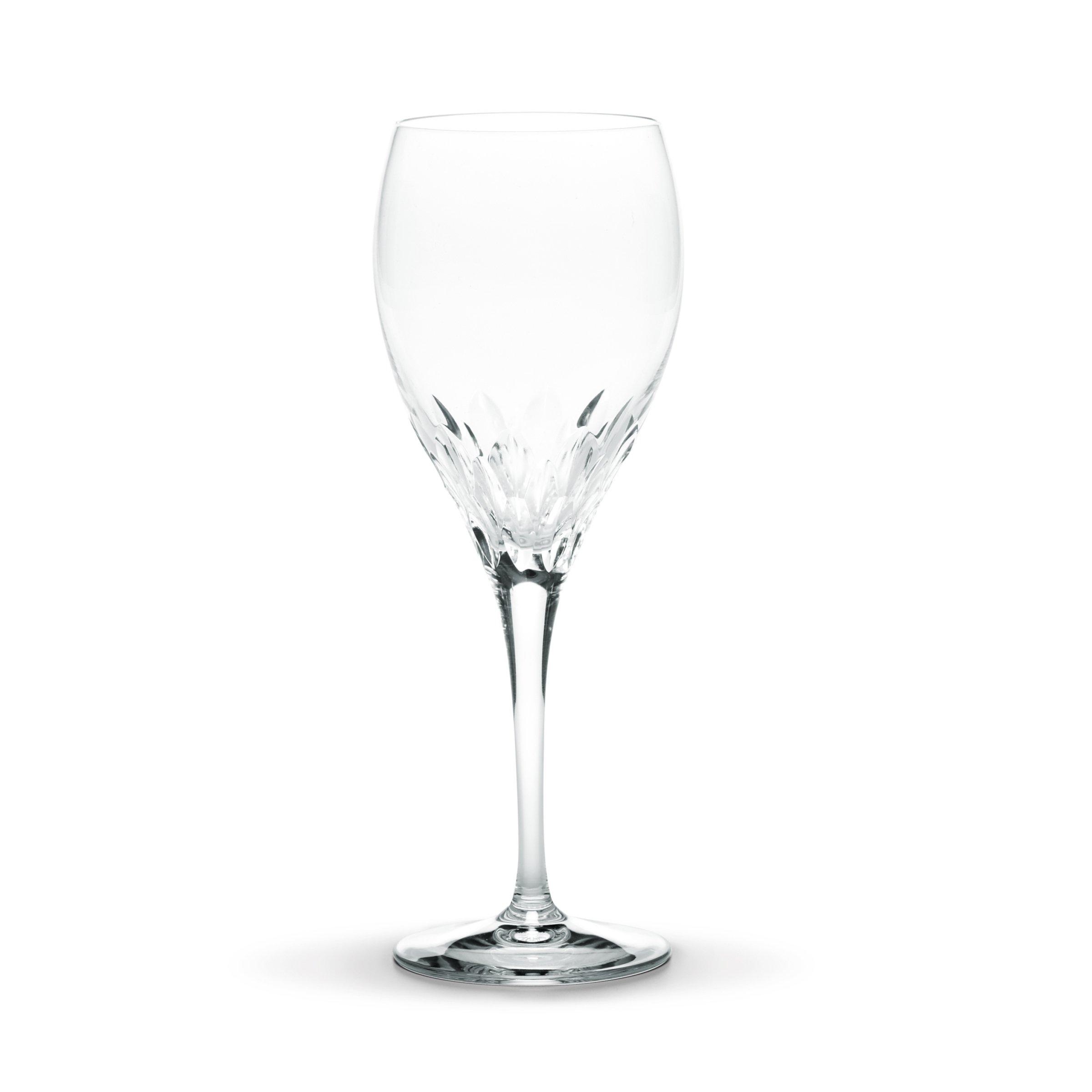 Mikasa Capella Crystal Goblet Wine Glass, 10.25-Ounce