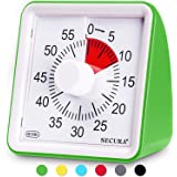 Secura 60-Minute Visual Timer, Classroom Countdown Clock, Silent Timer for Kids and Adults, Time Management Tool for…