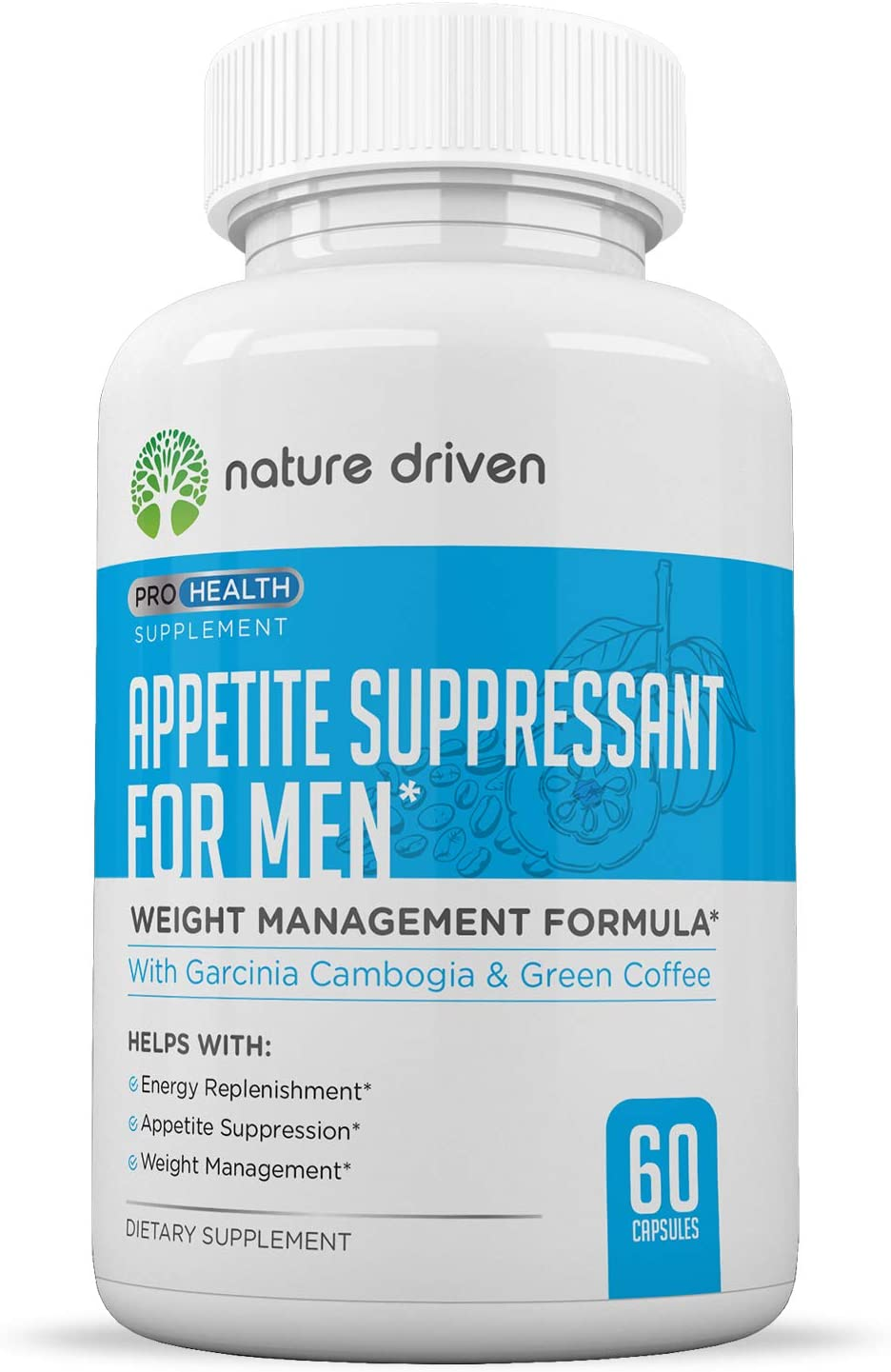Best Appetite Suppressant for Women Men- Weight Loss for Men – Increase Natural Energy – Boost Metabolic Rate – 30 Day Supply