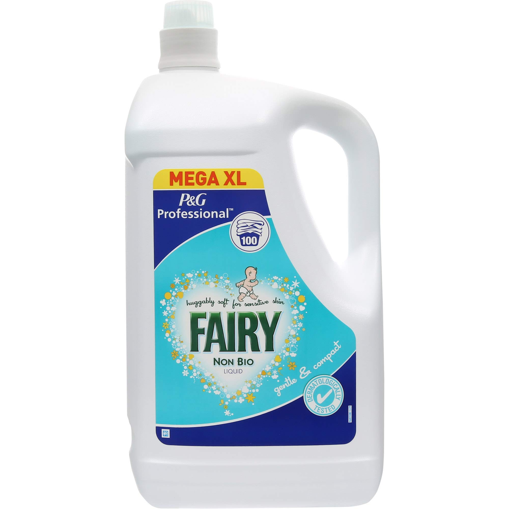Fairy Non Bio Laundry Washing Liquid P & G Professional 5 Litre 100 Washes by Fairy