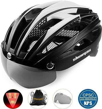 Casco bicicleta/Casco Bicic con luz,Certificado CE, casco ...