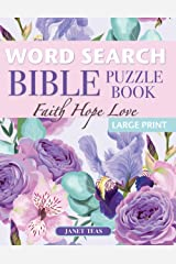 Faith Hope Love Bible Word Search Puzzle Book: 70 Large Print Inspirational Puzzles (Finding Faith Series) Paperback