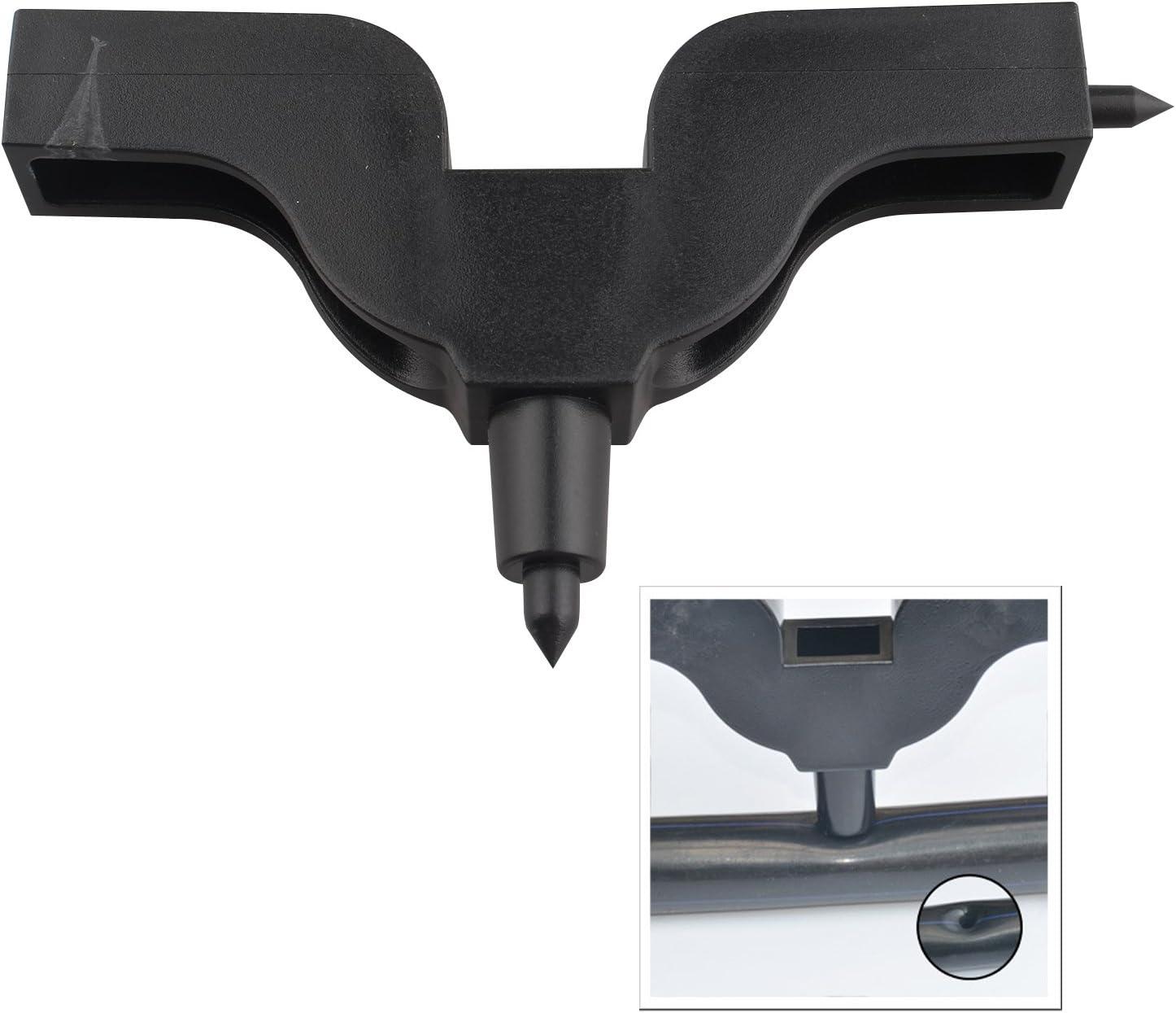 2/pcs 3/mm 4/mm dirrigation de comprim/és trou Maker Jardin perceuse Raccord de tuyau Perforatrice outils de per/çage Drip outils de raccord de tuyau