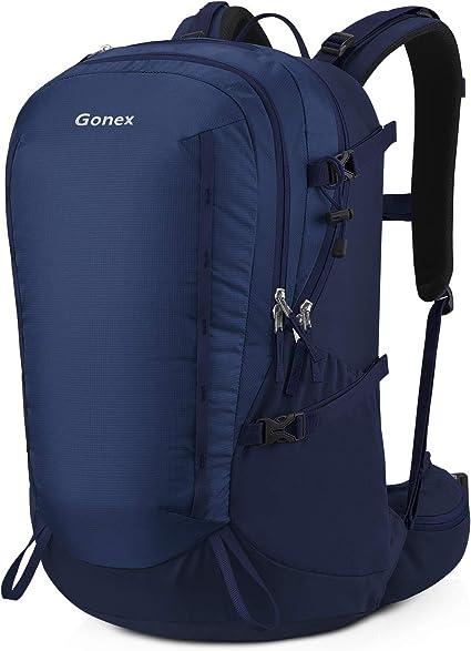 Gonex 40L Sac /à Dos de Randonn/ée Trekking Sac pour Escalade Alpinisme Camping Trekking Voyage