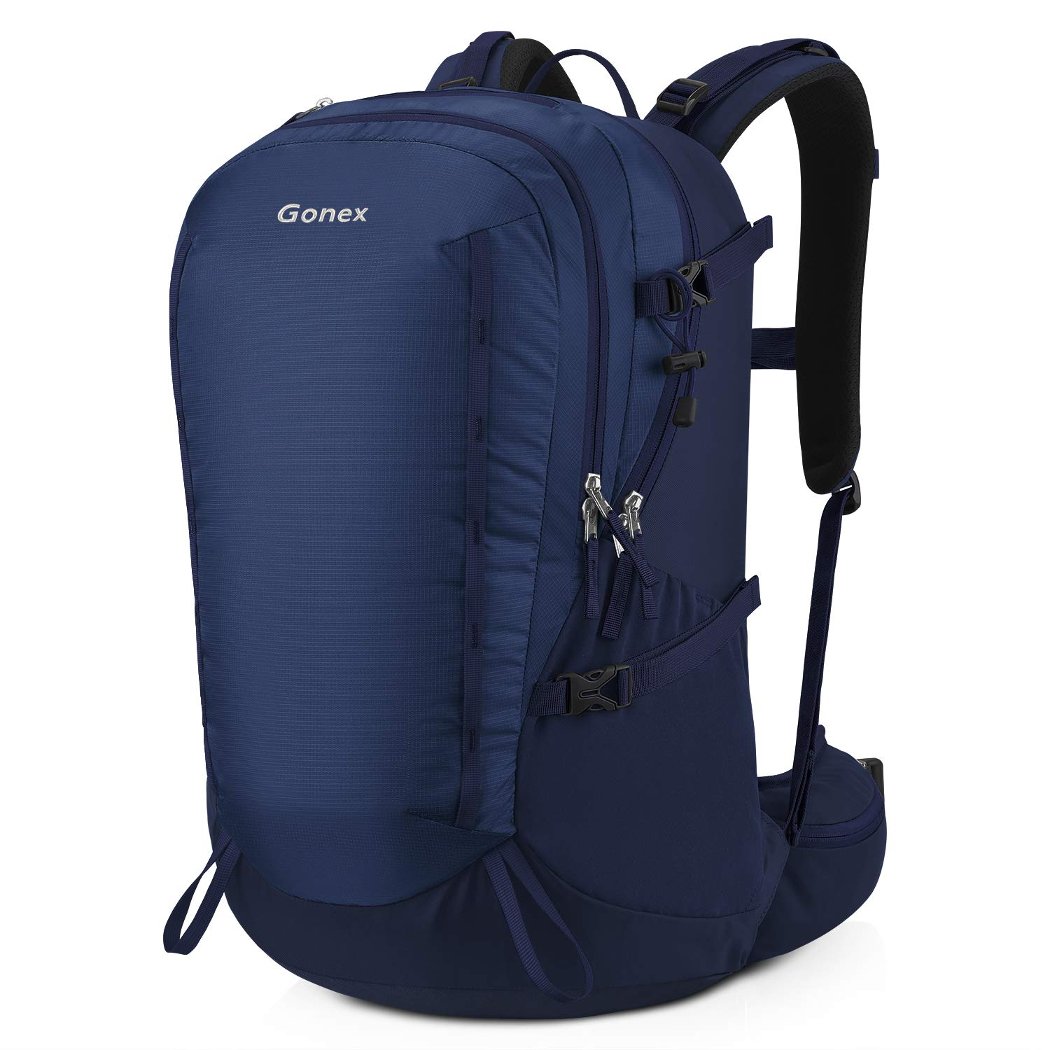Gonex 40L Hiking Backpack, Outdoor Travel Backpack with Rain Cover for Climbing, Camping, Travelling Blue by Gonex