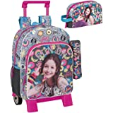 Soy Luna Backpack Trolley Bundle Pencilcase Lunchbox Athletic 38cm School Bag