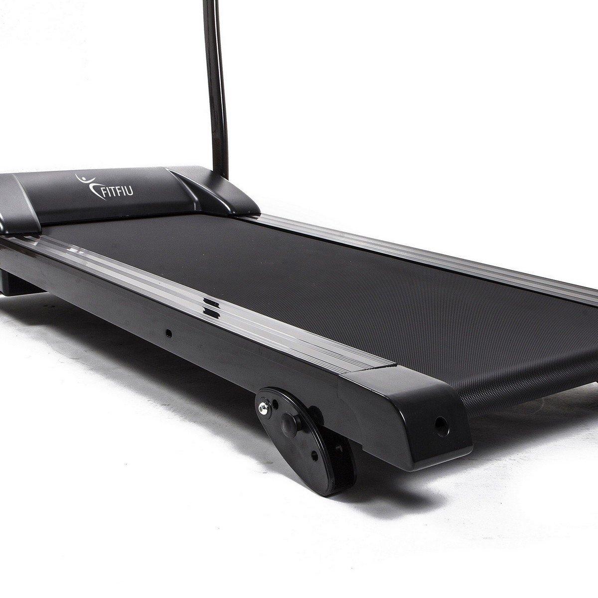 Cinta de correr plegable pantalla LED FitF 1500w: Amazon.es ...