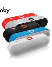 nby-18 | Portable Bluetooth Speaker | Rich Bass | Boom Loud | 6W Crystal Stereo Sound Driver | 10m Wireless Signal Range | IPX5 Water Resistant Rating | Built In Microphone | Radio | Robust Elegant Design | (RED)