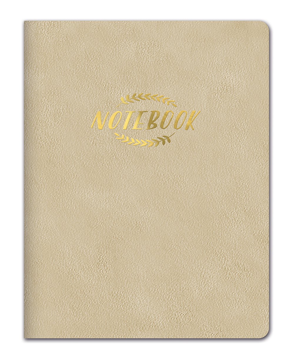 Studio Oh. Large leatheresque Classic Classic Classic Tagebuch Notebook, schwarz Klassisches Notizbuch Gold B072LYDJ1Y | Beliebte Empfehlung