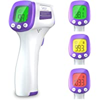 Simzo Forehead Thermometers, Infrared Digital Thermometer for Baby Kids and Adults, Accurate Digital Reading Non-Contact…