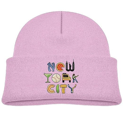 Amazon.com  Baby Beanie Hats Soft Knit Cap New York City Boy Girls ... 07733f2e0e8