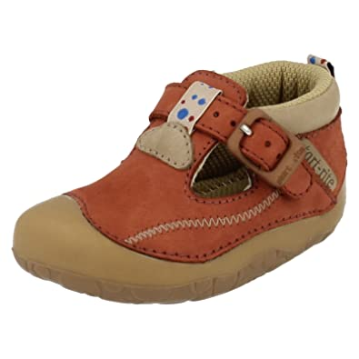 72cdb8121b405 Boys Startrite Casual Pre Walker Shoes Tiny Tan Size 4.5G: Amazon.co ...