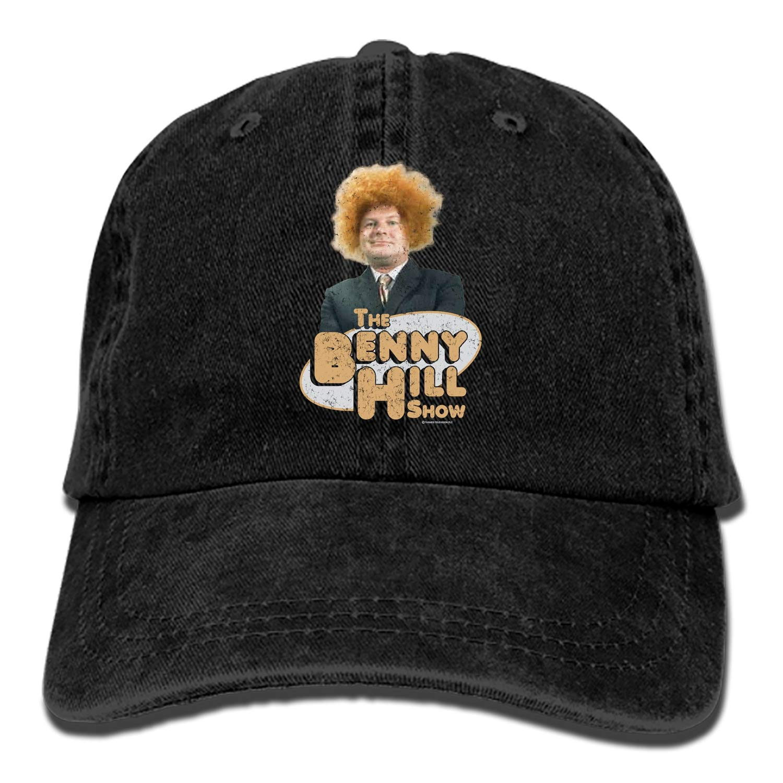 Boeshkey Benny Hill Adult Denim Dad Solid Baseball Cap Hat