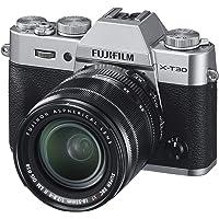 Fujifilm X-T30 Mirrorless Digital Camera w/XF18-55mm Kit - Silver
