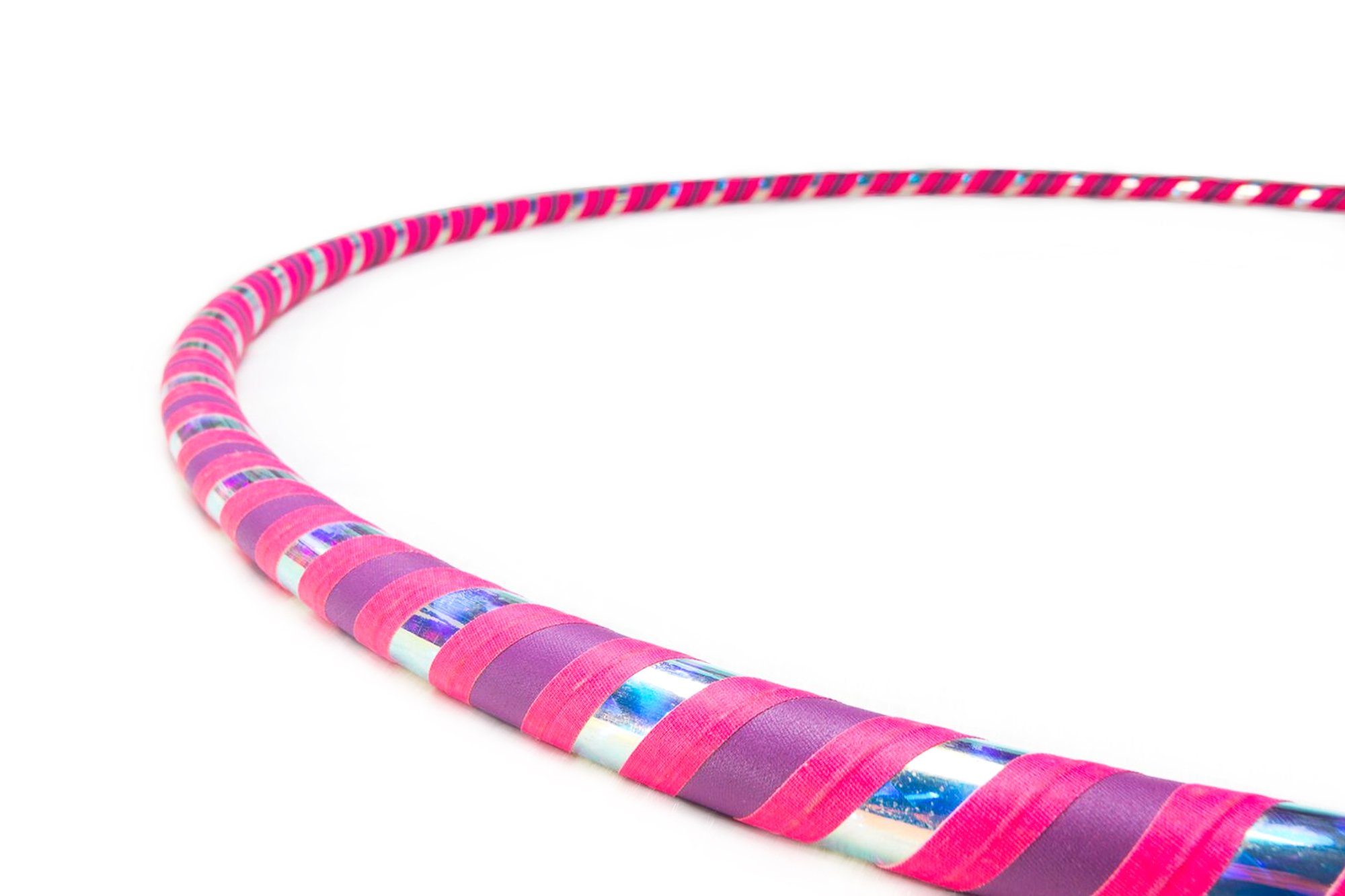 The Spinsterz Adult Beginner Hula Hoop (Bubble Yum, Small - 36'' Diameter)