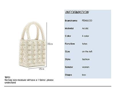 Amazon.com: Bolso de perlas con cuentas estilo vintage ...