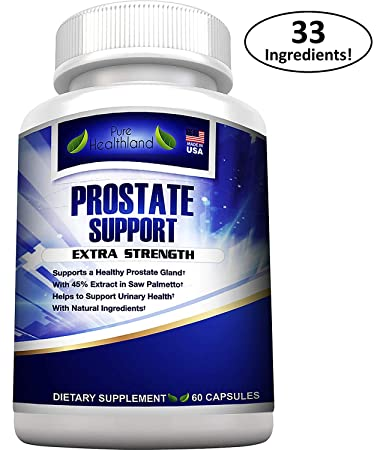 STOP FREQUENT URINATION! The Most Complete Super Prostate Health Support  Supplement Pills