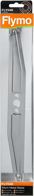 Flymo FLY048 - Cuchilla para cortacésped (40 cm)