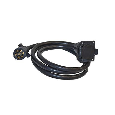 Amazon.com: ALEKO TC7E7 7\' Trailer Wire Connector 7-Way Extension ...