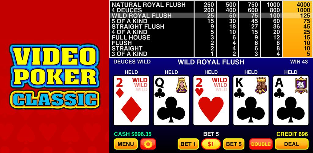 video poker classic casino