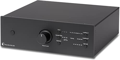 Pro-Ject Phono Box DS2 USB Phono Preamplifier – Black