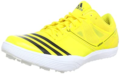 watch 0618d 231f0 adidas Performance adizero LJ 2 Q34040, Unisex-Erwachsene Laufschuhe, Gelb  (Vivid Yellow