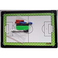 Diamond Tactic Board - Managers Coaches Tactics Counters Wipeable 45x30cm