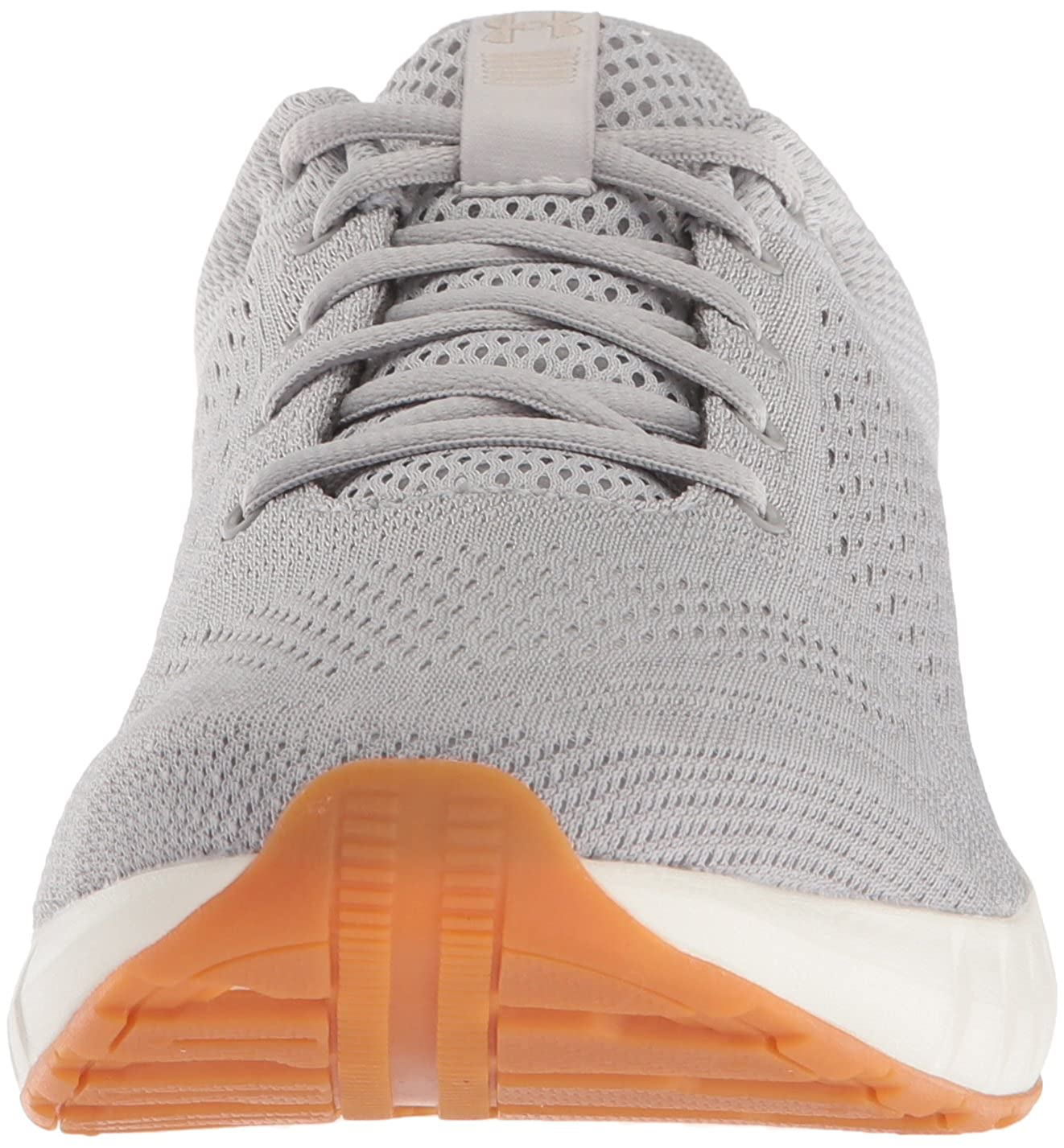 109 Ghost Gray //Ivory 8.5 M Under Armour Womens Micro G Pursuit Running Shoe