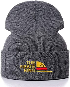 HPOZA The Pirate King Bordado De Algodón Gorros Casuales para ...