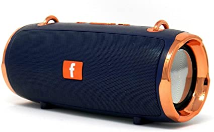 KMS-E8 Portable Bluetooth Multi-Speaker System with Carry Strap (Blue)