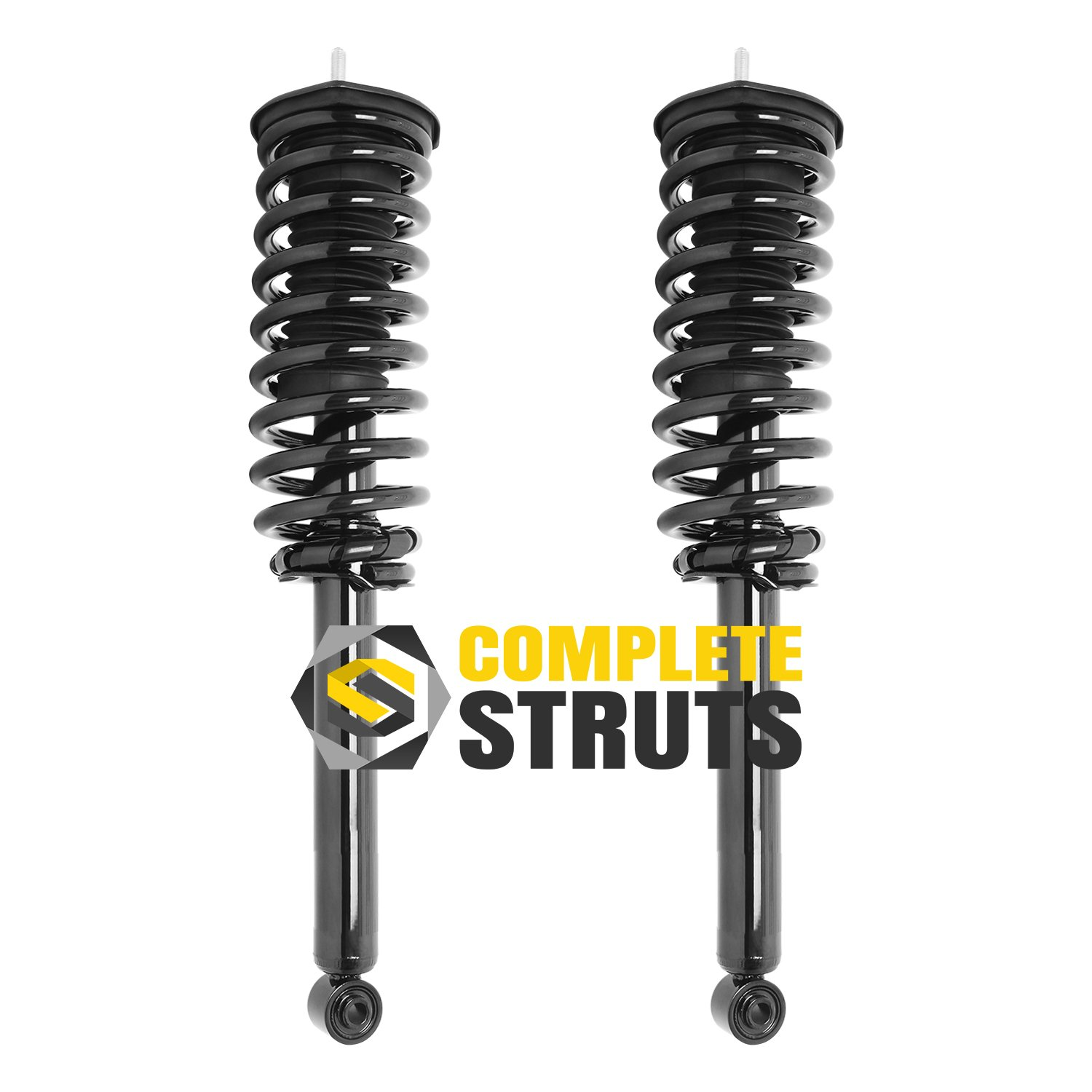 Set of 4 Front Quick Complete Struts /& Rear Bare Shock Absorebrs Compatible with 2013-2015 Ford Flex