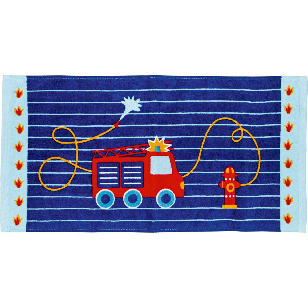 Toalla Mágica de Manos Camión de Bomberos 60 x 30 cm Azul: Amazon.es: Juguetes y juegos