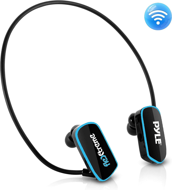 Pyle - Auriculares de Diadema para MP3 (8 GB), diseño Deportivo MP3 Negro