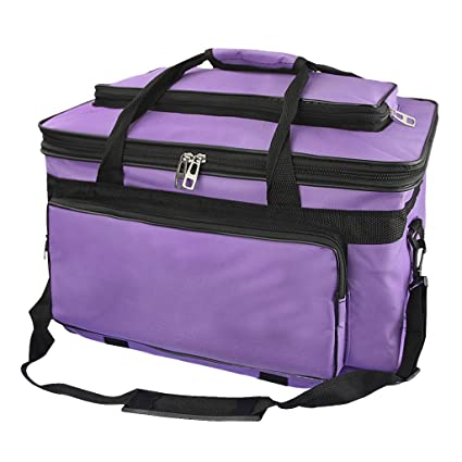 b7e1ed90db Waterproof Art Organizer Craft Storage Tote Bag Artist Travel Carrier for  Markers