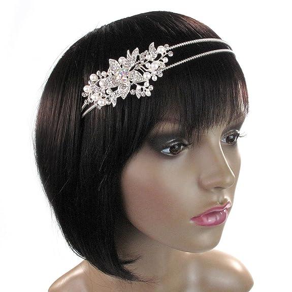 Cerchietto per capelli con decorazione laterale a forma di margherita e1af7afe6784