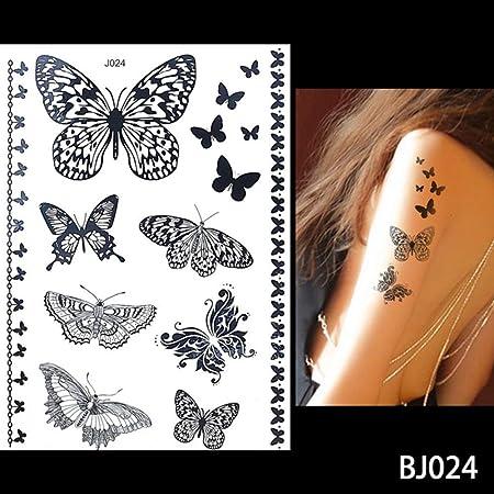 adgkitb 3 Piezas Impermeable Tatuaje Joya Encaje Secreto Brazo ...