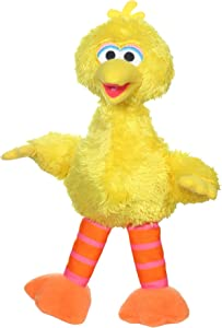 Sesame Street Mini Plush Big Bird Doll: 10-inch Big Bird Toy for Toddlers and Preschoolers, Toy for Kids 1 Year Old and Up